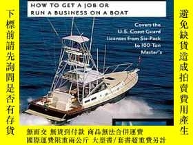 二手書博民逛書店Make罕見Money With Your Captains License: How to Get a Job