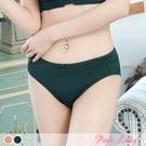 舒適透氣柔滑配褲 叢林花窗內褲2896(綠色、豆沙)-Pink Lady