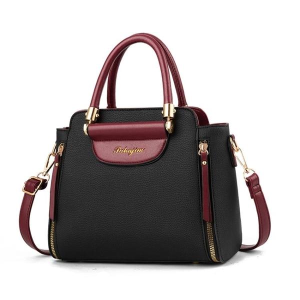 大氣個性女士小包包2019新款潮韓版休閒單肩手提包百搭斜挎小方包 金曼麗莎