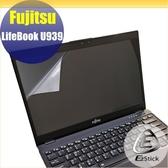 【Ezstick】FUJITSU Lifebook U939 靜電式筆電LCD液晶螢幕貼 (可選鏡面或霧面)