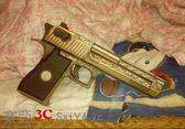 槍械沙漠之鷹3D紙模型立體拼圖