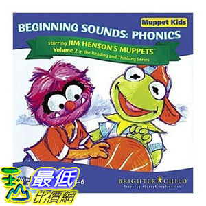 [106美國暢銷兒童軟體] MUPPETS BEGINNING SOUNDS B000287MOM