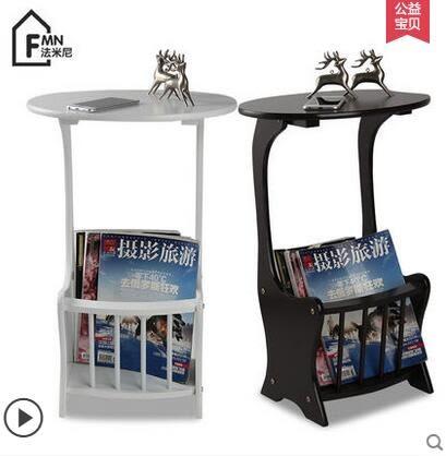 小茶几桌歐式電話幾陽台小茶台小邊幾沙發邊桌花架雜誌架
