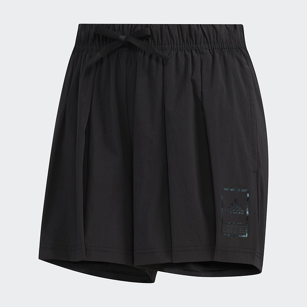 ADIDAS STYLE SHORTS 女裝 短褲 慢跑 訓練 側邊口袋 張鈞甯 黑【運動世界】FT2910