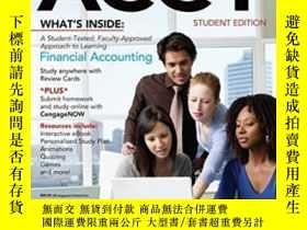 二手書博民逛書店Financial罕見Acct2 (with Cengagenow 1 Term Printed Access C