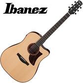 嚴選Ibanez AAD300CE-LGS 雲杉木單板電木吉他-附贈千元好禮/原廠公司貨