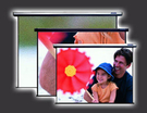 【名展影音】JUMBO豪華電動立地上升 4:3 蓆白幕 84吋 JSH-FE84MW
