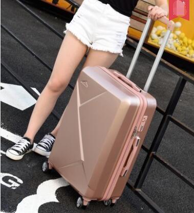 行李箱子母女24寸小清新學生拉桿箱