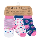 兒童 襪子 ZOOCCHiNi 三件組 -  兔子 (0-24個月)