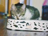 寵物餐具 寵物貓糧盆狗碗狗狗食盆加菲貓專用扁臉貓碗食碗雙碗 珍妮寶貝
