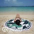 【24H】海邊 渡假 必備 印花 圓形 ...