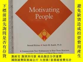 二手書博民逛書店英文原版罕見Motivating PeopleY281995 D