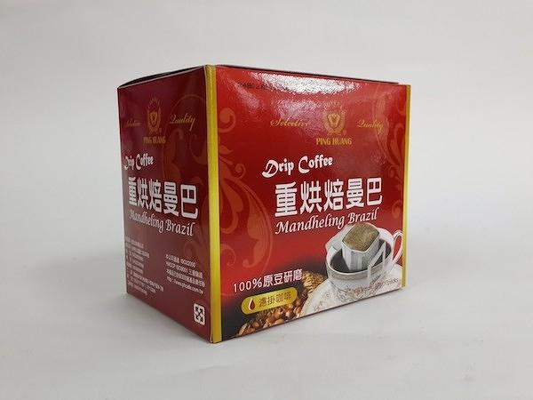 品皇『掛耳式咖啡』-重烘焙曼巴 10g*10袋/盒
