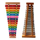 兒童手敲木琴15音專業打擊樂器鋁板木質成人學生寶寶音樂益智玩具 挪威森林