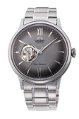 [Y21潮流精品] 新款!ORIENT 東方錶 SEMI-SKELETON系列 鏤空機械錶 鋼帶款 灰色 RA-AG0029N