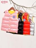 兒童棉馬甲男童女童加厚坎肩寶寶外穿洋氣馬夾秋冬背心外套