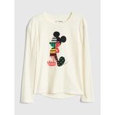 Gap女童GapxDisney迪士尼系列套裝長袖T恤499182-象牙白