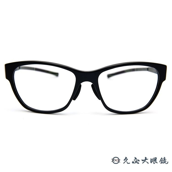 ic! berlin 薄鋼眼鏡 BLACK HOLE (黑) 貓眼 近視鏡框 久必大眼鏡 原廠公司貨