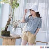 《AA6728》寬鬆感條紋拼接素面連帽飛鼠袖上衣 OrangeBear