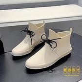 韓版時尚雨鞋女短筒雨靴水鞋防水廚房膠鞋防滑工作鞋【輕奢時代】