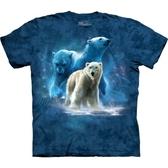 【摩達客】 (預購)(大尺碼3X) 美國進口【The Mountain】自然純棉系列 北極熊群 設計T恤(10411045061ab)
