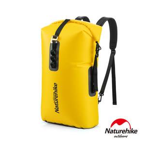 Naturehike 28L便利調節TPU乾濕分離超輕防水後背袋 黃色