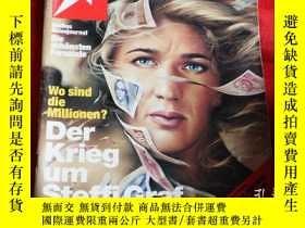 二手書博民逛書店德語雜誌stern罕見1995Y16696 德語雜誌stern