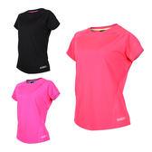 FIRESTAR 女吸排圓領短袖 (T恤 短T 慢跑 路跑 訓練 免運 ≡排汗專家≡