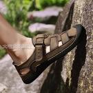 溯溪鞋包頭涼鞋男新款夏季休閒溯溪鞋戶外沙灘鞋潮XLGA222 快速出貨