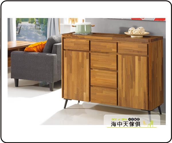 {{ 海中天休閒傢俱廣場 }} C-25 摩登時尚 餐廳系列 406-1 維迪4尺柚木餐櫃
