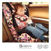 安全坐椅 艾貝兒童安全座椅汽車用嬰兒寶寶車載坐椅9個月-12歲isofix硬接口 珍妮寶貝