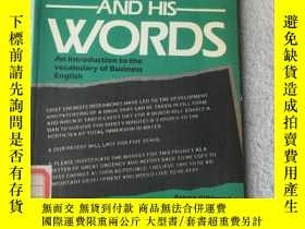 二手書博民逛書店The罕見Manager and His Words (Perg
