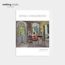 裝飾畫 藝術 掛畫 【G0130】Sergei Arsenievich Vinogradov藝術裝飾畫-在室內的女人(A3) 韓國製 完美主義