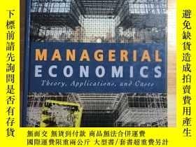 二手書博民逛書店管理經濟學罕見(Managerial Economics ) (