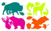 GEAR AID GEAR PATCHES 造型修補貼片 野生動物 彩色
