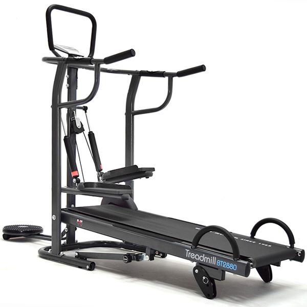 四合一跑步機│【BODY SCULPTURE】4in1多功能跑步機(踏步機+扭腰盤+伏地挺身)推薦