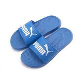 PUMA POPCAT 一片套式拖鞋 寶藍 360265-27 男女 鞋全家福