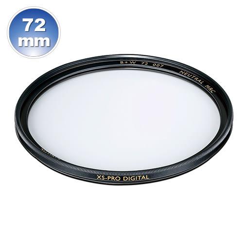 B+W XS-Pro 007 72mm Clear MRC nano 純淨濾鏡超薄高硬度奈米鍍膜