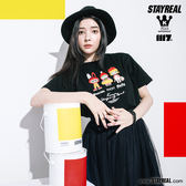 STAYREAL x MOLLY 友誼萬歲T