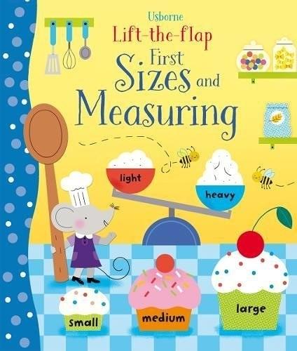 【幼兒概念學習書】FIRST SIZES AND MEASURING /硬頁翻翻書《主題:測量.比較》