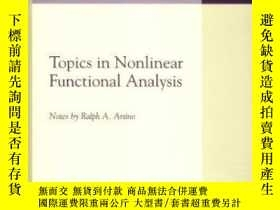 二手書博民逛書店Topics罕見In Nonlinear Functional Analysis-非線性泛函分析Y436638