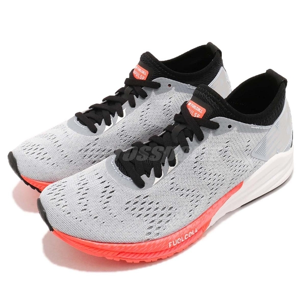 New Balance 慢跑鞋 Fuelcell Impulse 輕量提速跑鞋 灰 橘 運動鞋 女鞋【ACS】 WFCIMGPD