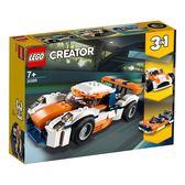 樂高積木LEGO 3合1創作系列 31089 日落賽車