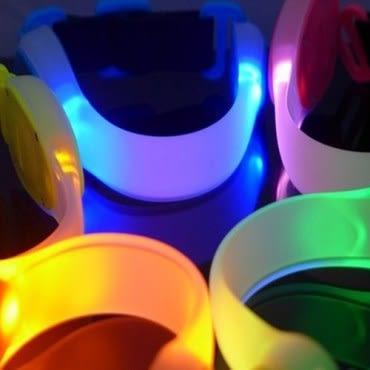 GENTOS新世代LED炫光環臂帶(混色1入)