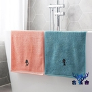 毛巾擦臉加厚情侶吸水手巾家用成人柔軟洗澡洗臉巾【古怪舍】
