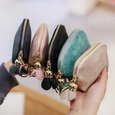 短款零錢包女士小錢包零錢包女簡約迷你短款學生韓版可愛時尚硬幣袋 美物居家