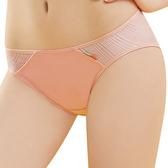 思薇爾-活力go學院風系列M-XL素面低腰三角內褲(暖橙色)