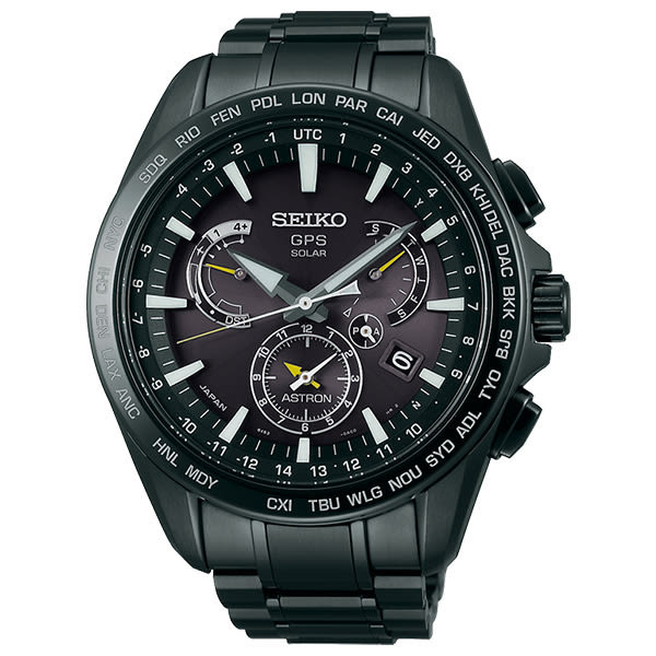 SEIKO 精工 太陽能 SSE079J1(8X53-0AD0SD) ASTRON GPS 男錶