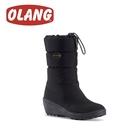 【OLANG 義大利 ELENA OLANTEX 防水雪靴《黑》】1607/保暖/滑雪/雪地