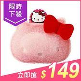 SANRIO 三麗鷗 Hello Kitty肥皂海綿(1入)【小三美日】洗手海綿菜瓜布/泡泡洗澡巾 原價$169